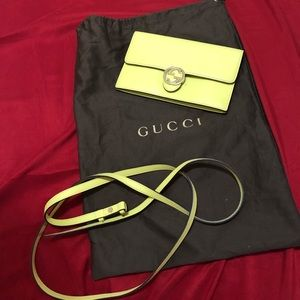 Mini Gucci crossbody bag